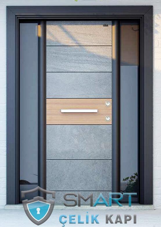 Granit Mermer Desenli Villa Kapısı Royal