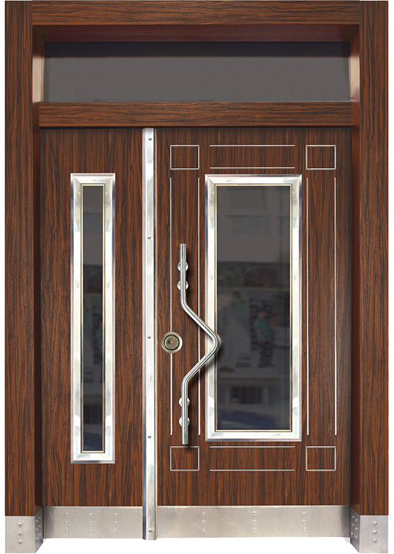 Apartman Bina Giriş Kapısı BK04