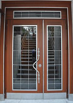 Apartman Bina Giriş Kapısı APT12