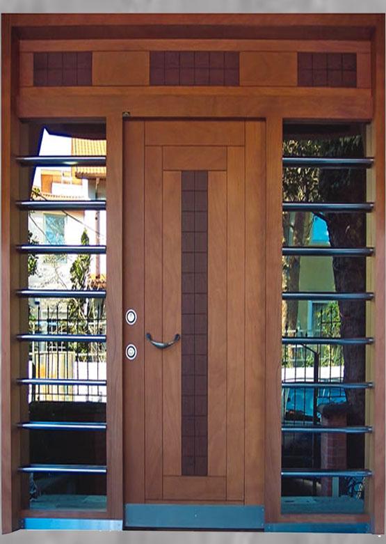 Apartman Bina Giriş Kapısı A-000