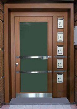 Apartman Bina Giriş Kapısı XR08