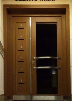 Apartman Bina Giriş Kapısı XR05