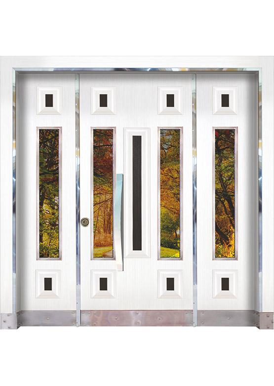 Apartman Bina Giriş Kapısı BK08