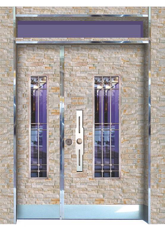 Apartman Bina Giriş Kapısı BK010