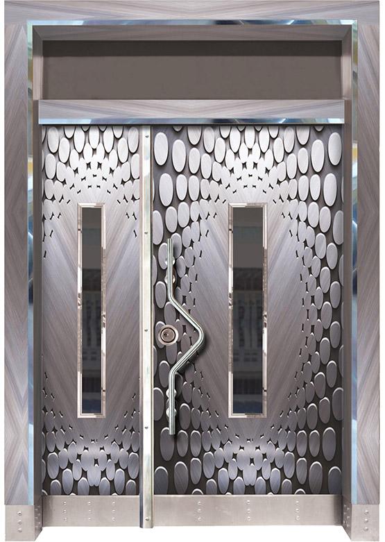 Apartman Bina Giriş Kapısı BK015