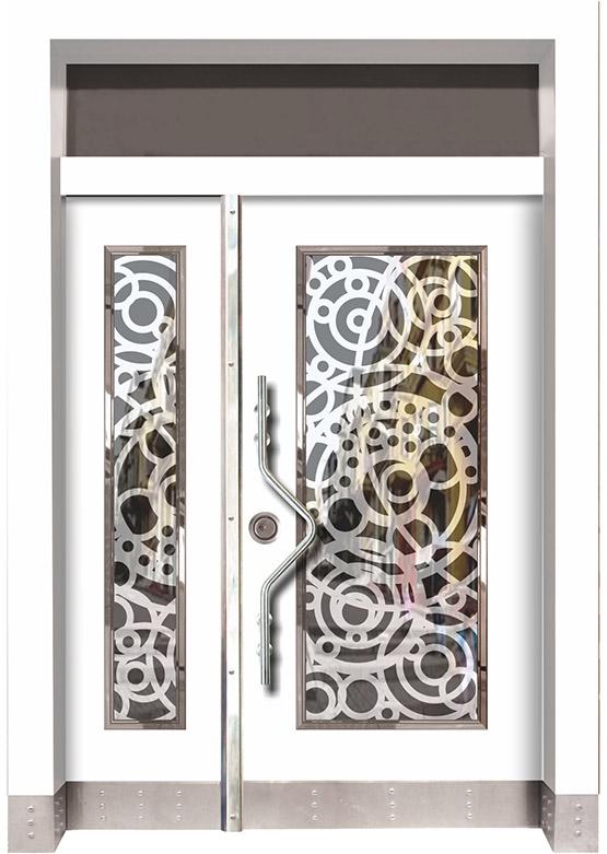 Apartman Bina Giriş Kapısı BK020