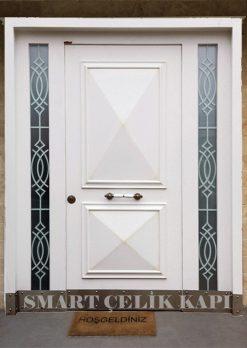 Ahşap Villa Giriş Kapısı APT43