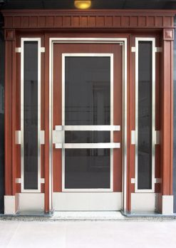 Apartman Bina Giriş Kapısı AA04