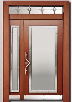 Apartman Bina Giriş Kapısı A-06
