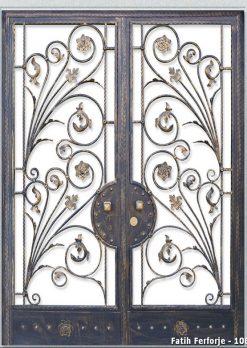 Ferforje Kapı Modelleri Apartman Giriş Kapısı FF 1083