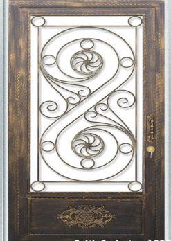 Ferforje Kapı Modelleri Apartman Giriş Kapısı FF 1095