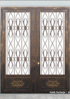 Ferforje Kapı Modelleri Apartman Giriş Kapısı FF 1097