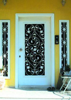 Ferforje Kapı Modelleri Apartman Giriş Kapısı FF 1159