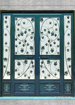 Ferforje Kapı Modelleri Apartman Giriş Kapısı FF 1245
