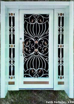 Ferforje Kapı Modelleri Apartman Giriş Kapısı FF 1350