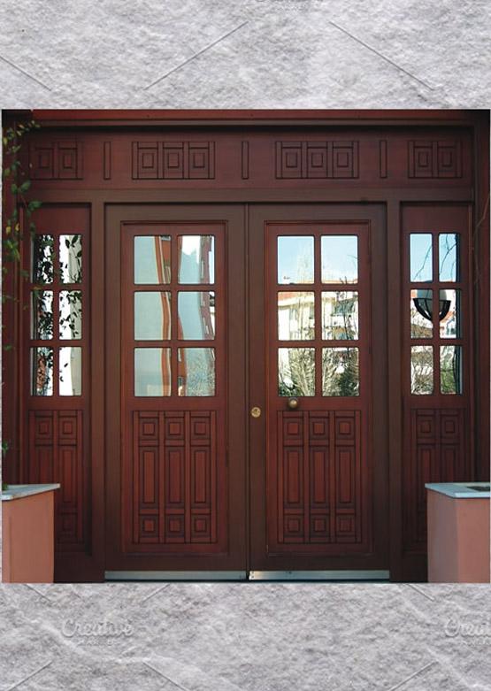 Apartman Bina Giriş Kapısı A-0 XR04