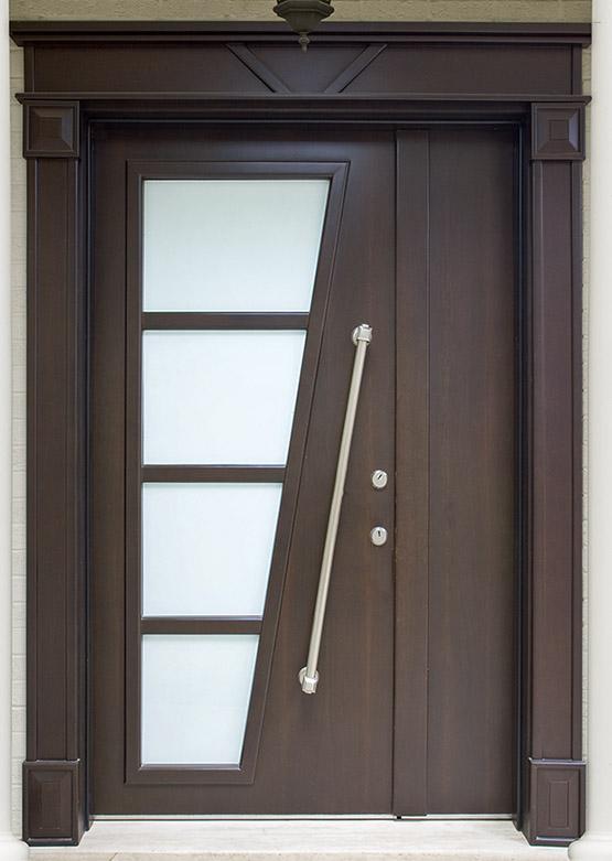 Ahşap Villa Giriş Kapısı A-024