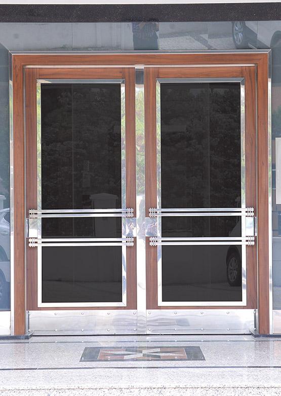 Apartman Bina Giriş Kapısı A-025