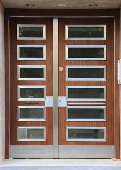 Apartman Bina Giriş Kapısı A-07