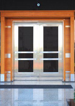 Apartman Bina Giriş Kapısı A-030