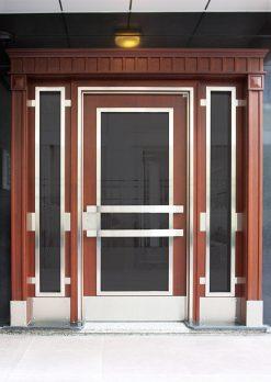 Apartman Bina Giriş Kapısı A-039
