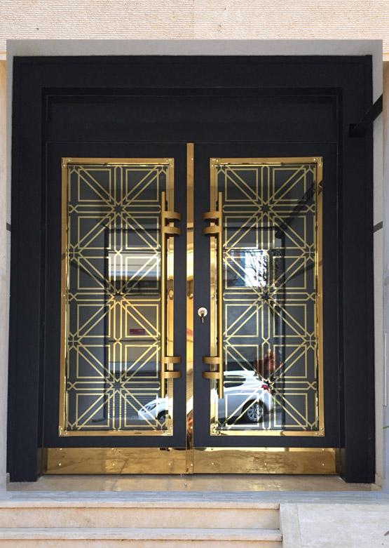 Apartman Bina Giriş Kapısı A-0 E1