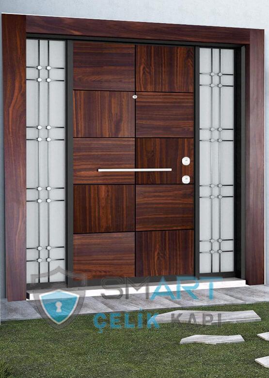 Kompak Lamine Villa Giriş Kapısı