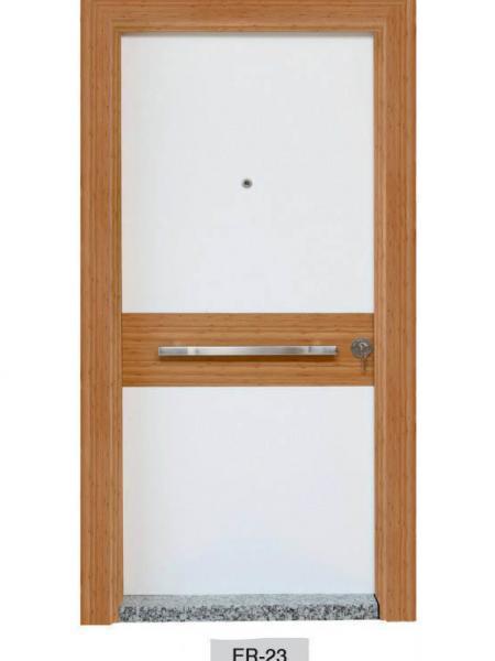 Modern Ahşap Kaplamalı Çelik Kapı Modelleri Kale Kilit Çelik Kapı Fiyatları