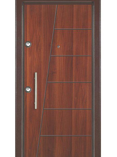 metalik ceviz ekonomik çelik kapı ucuz çelik kapı 103