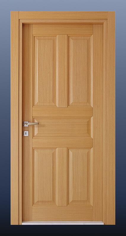 Ahşap Oda Kapısı Alpi Meşe KD5