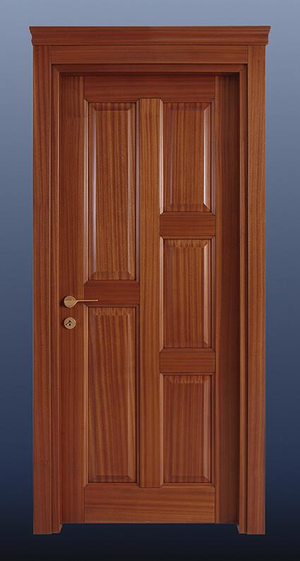 Ahşap Oda Kapısı Maun KD5d