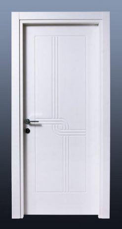 PVC Oda Kapısı Bute Beyaz MF10