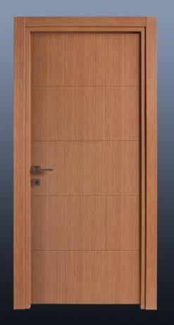 PVC Oda Kapısı Bambu MF14