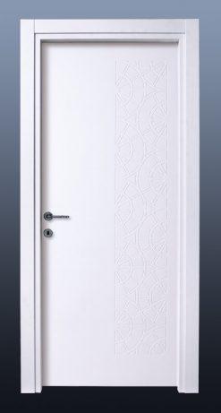 PVC Oda Kapısı Bute Beyaz MF5