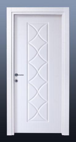 PVC Oda Kapısı Bute Beyaz MG6