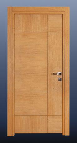 Ahşap Oda Kapısı Doğal Meşe NK12
