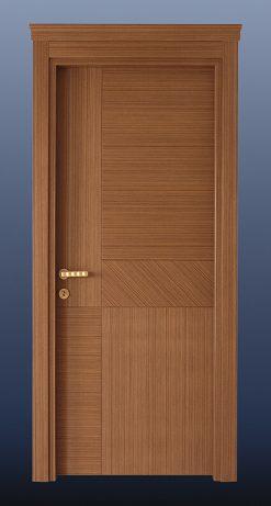 Ahşap Oda Kapısı Alpi Ceviz NK15