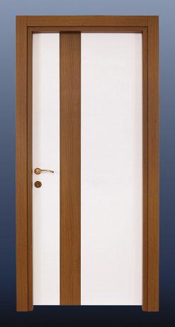 PVC Oda Kapısı Beyaz Ceviz S11