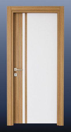 PVC Oda Kapısı Tik Beyaz S20