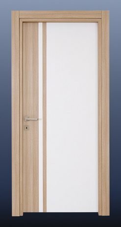 PVC Oda Kapısı Beyaz Pudra Meşe S20