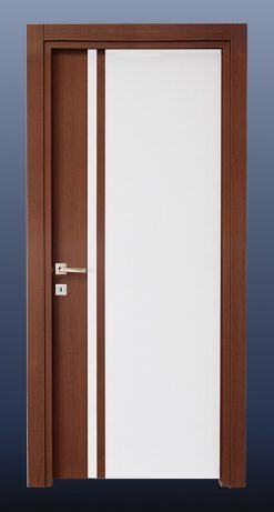 PVC Oda Kapısı Beyaz Huş S20