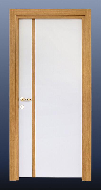 PVC Oda Kapısı Beyaz Ceviz S20