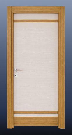 PVC Oda Kapısı Bambu Akçaağaç Meşe S21