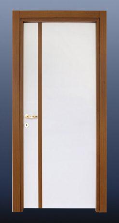 PVC Oda Kapısı Beyaz Ceviz S21