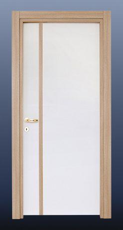 PVC Oda Kapısı Beyaz Meşe S21