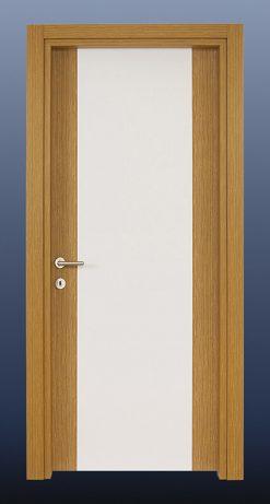PVC Oda Kapısı Bambu Beyaz S3
