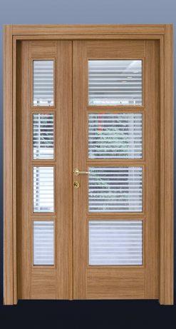 PVC Oda Kapısı Tik S3c4