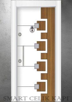 Ekonomik Çelik Kapı Modelleri Çift Renk