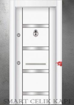 Ekonomik Çelik Kapı Modelleri İnci Beyazı