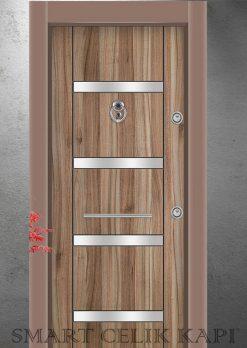Ekonomik Çelik Kapı Modelleri Isparta Ceviz